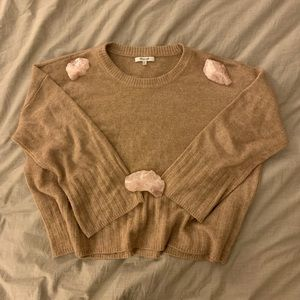 Madewell Ayres Wide-Sleeve Pullover Sweater